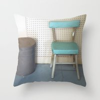 My What a Pretty Chair Throw Pillow
