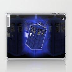 Tardis Through Time - Dr Who Laptop & iPad Skin