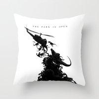 World Park Z Throw Pillow