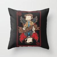 Kings Among Men Throw Pillow