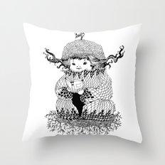 Hermit Throw Pillow