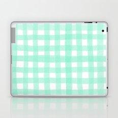 Gingham Mint Laptop & iPad Skin