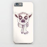 Lemur And Scarf  iPhone 6 Slim Case
