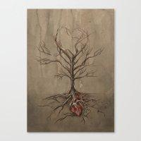 [Buried] Canvas Print