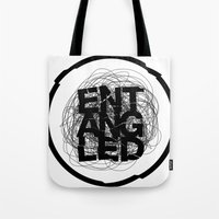 Entangled Logo Tote Bag