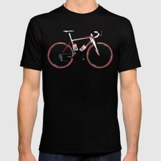 Race Bike SMALL Mens Fitted Tee Black