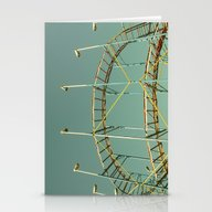 Rollercoaster Stationery Cards