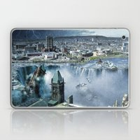 Earth Falls Away Laptop & iPad Skin