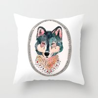 How Lucky To Be So Unusu… Throw Pillow