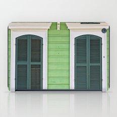 Green Creole Cottage iPad Case