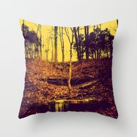 my own secret way home Throw Pillow