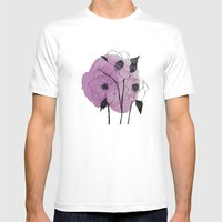 helleborus Mens Fitted Tee White SMALL