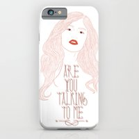 iPhone & iPod Case featuring Are You Talking To Me ? by Pifla