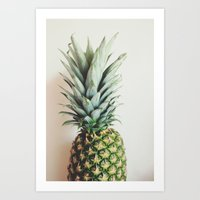 How About That Pineapple Art Print