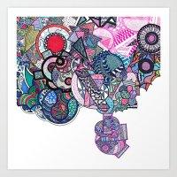 Combinations Art Print