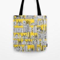 New York yellow Tote Bag