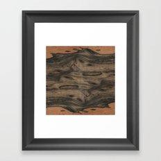 Birdseye Paldao Wood Framed Art Print