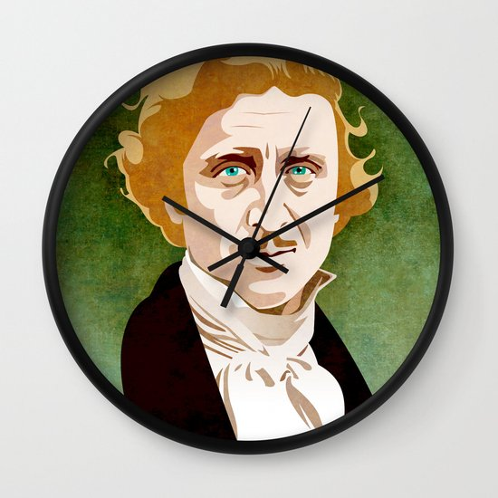 Young Frankenstein Wall Clock