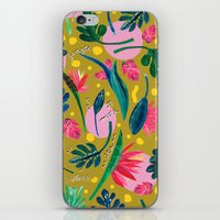 Cool summer in the mustard iPhone & iPod Skin