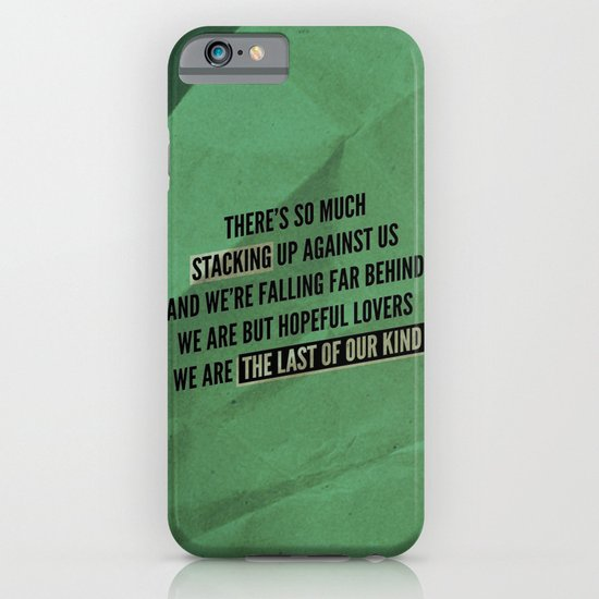 We are but hopeful lovers iPhone & iPod Case
