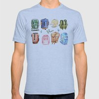 Backpacks Mens Fitted Tee Athletic Blue SMALL