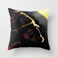 The Hero Lachlan Deserve… Throw Pillow