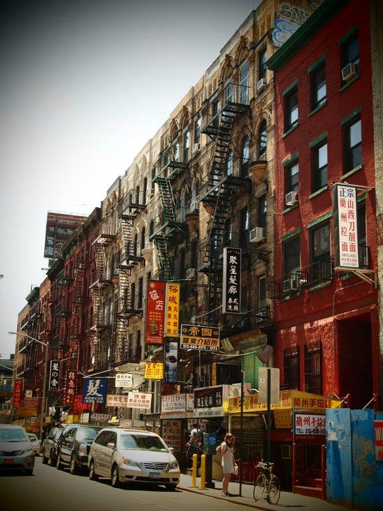 Chinatown NYC Art Print