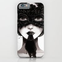 iPhone & iPod Case featuring La veuve affamee by Ludovic Jacqz