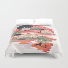 Landscape of Dreams Duvet Cover