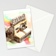 Vintage gadget series: Polaroid SX-70 OneStep camera Stationery Cards