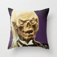 Crypt Keeper Throw Pillow