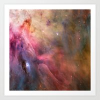 Orion Nebulae Art Print