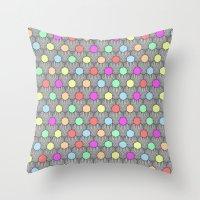Careless Woman Pattern V2 Throw Pillow