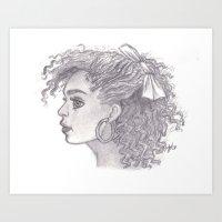 Alisha Art Print