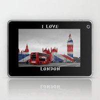 Red London Bus And Big B… Laptop & iPad Skin