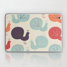 Peacock Pattern Laptop & iPad Skin