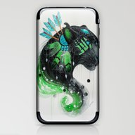 Warrior Panther iPhone & iPod Skin