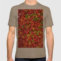 UN AJÍ  EN PALOQUEMAO -… Mens Fitted Tee Tri-Coffee SMALL