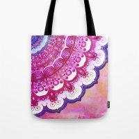 Colorful Watercolor Mand… Tote Bag