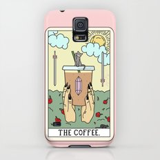 COFFEE READING Galaxy S5 Slim Case