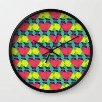 BP 82 V Diamonds Wall Clock