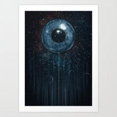 eye of all Art Print