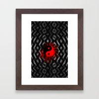 Radiating chi Framed Art Print