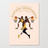NBA PLAYOFFS 2014 - EAST… Canvas Print
