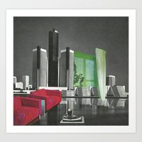 The City As Home 1 Art Print
