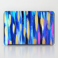 The Blues - Abstract Art iPad Case
