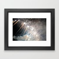 Explosions In The Sky Framed Art Print