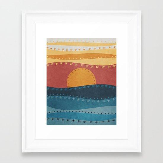 Textures/Abstract 47 Framed Art Print