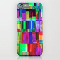 iPhone & iPod Case featuring GLITCH by C O R N E L L