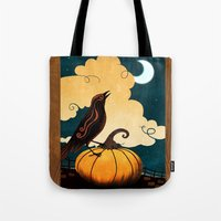 Halloween Is In The Air Tote Bag